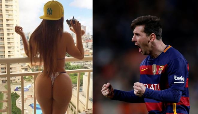 RT @Tropibogota: [Fotos] Miss BumBum de Brasil felicitó a Messi con calientes imágenes @Tropibogota  https://t.co/TlxXuz04Ap https://t.co/8…