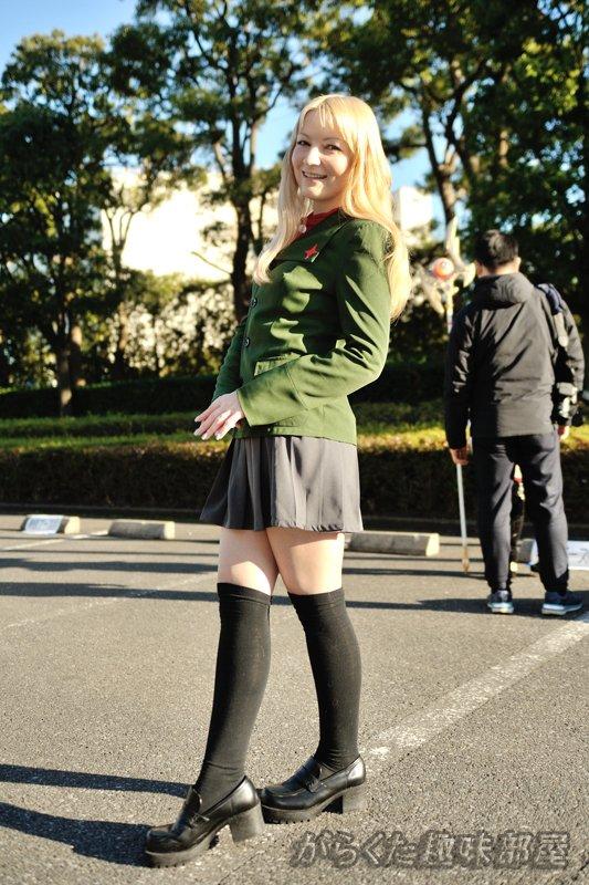 C89(冬コミ)で撮影してきたコス写真 ガルパン クラーラ(ジェーニャさん @jenya_jp) #C89 #コスプレ https://t.co/upH1CcCnil