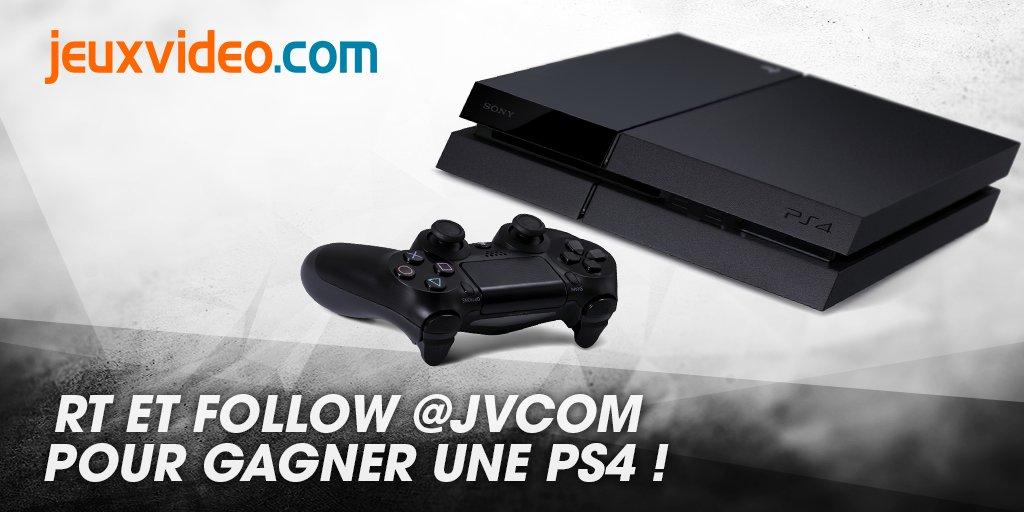 Gagnez une PS4 500 Go grâce à notre concours exclusif Twitter ! RT + follow @JVCom  Fin du concours lundi 12h ! https://t.co/GbuaatmO0P
