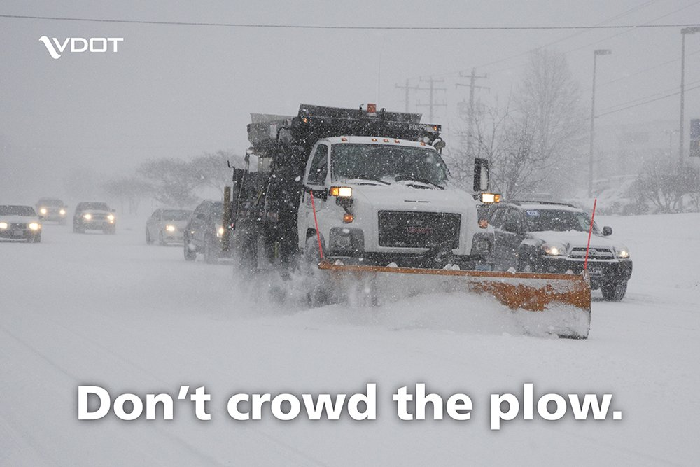 Important to remember with crews preparing to battle the coming snow! https://t.co/ZUUdBHLIDU