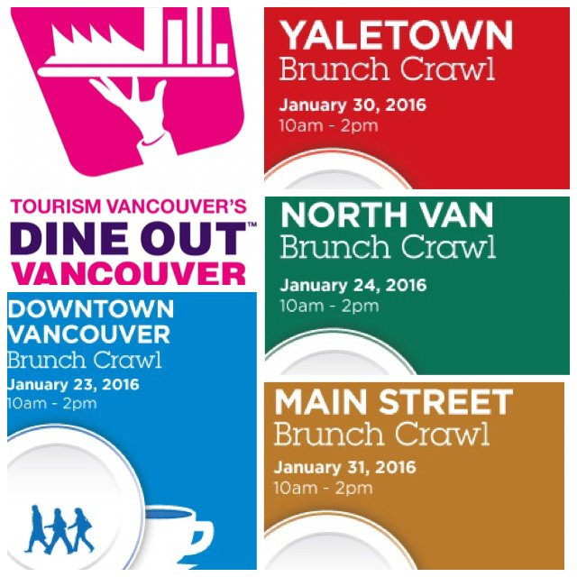 Join us at these 4 @DineOutVanFest Vancouver #BrunchCrawlsYVR https://t.co/p5XJeLp8T9 this weekend and next! https://t.co/KMseQ7YpRh