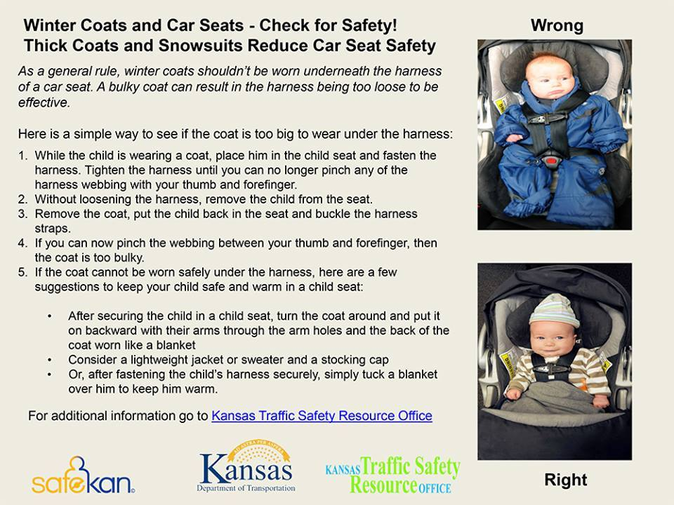 It's cold. You want your baby to be bundled. What's the best way to keep them warm in their car seat? https://t.co/PpvIOItXEY