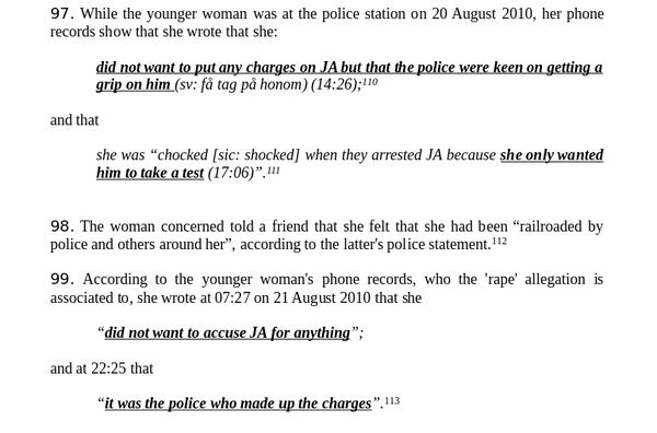 Mujer protagonista de acusaciones contra #Assange dice q policía sueca preparó un montaje https://t.co/1Yp3W9MKWL https://t.co/7RKxMHzz8b