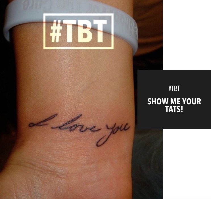 #TBT to when @ForeverMalika made me get TWO tattoos, LOL!!! More on my app!!! https://t.co/bEVPwrX4ON https://t.co/lj1vHcb6mn