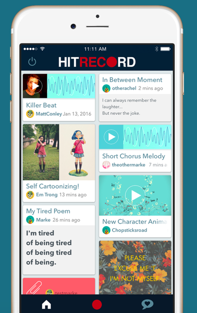 RT @hitRECord: ...oh! And you can download our brand new iOS app right here, right now -- https://t.co/2PdKEZ8Y1j https://t.co/5brwBsj3G7