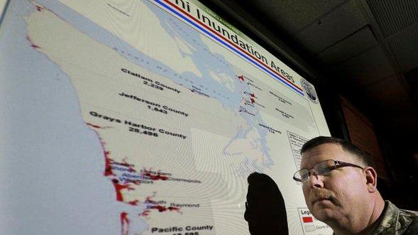 Pacific Northwest in fear of massive earthquake, tsunami