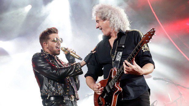 Adam Lambert on Bowie, fronting Queen and holding back https://t.co/euUyJrWCvA https://t.co/CKDGRcvNaC