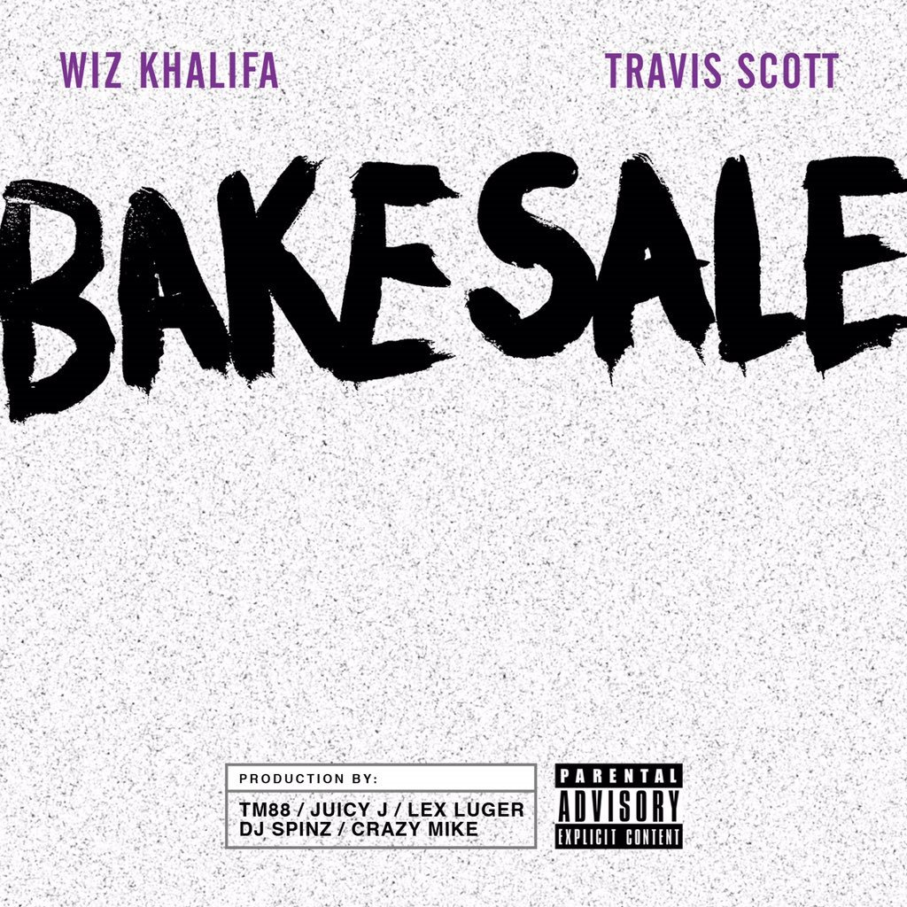 """Listen to @wizkhalifa's new single """"Bake Sale"""" with @trvisXX! #Khalifa @TM88 @therealjuicyj https://t.co/mreUnQSF72 https://t.co/fQF0lt3a2P"""