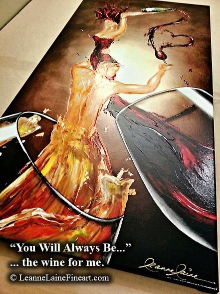 My art You Will Always Be the #Wine for Me ready for a client #romance #ThirstyThursday https://t.co/ZEui4wLqZ6 https://t.co/e7hqj3dR0W