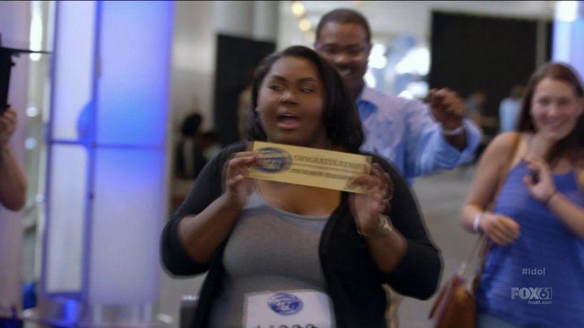 Bridgeport teen has more than 'One Last Time' to charm 'American Idol' judges https://t.co/aKZnDg5fWd https://t.co/jsNt5yDkPb