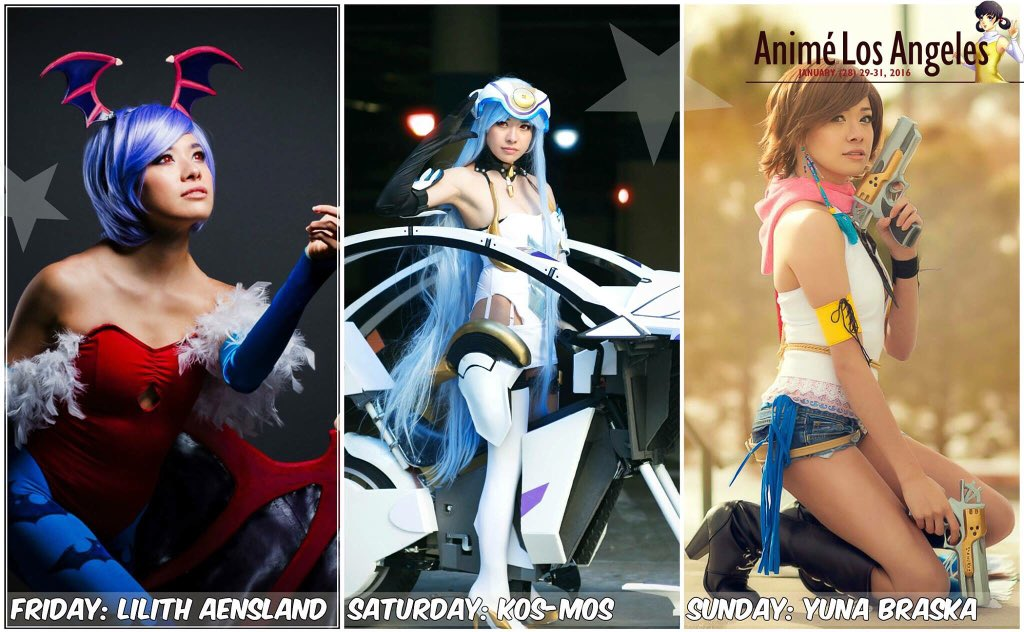 My line up for #animelosangeles  Im also co-hosting a panel! SAT6:30 pm - 7:30 pm: Cosplay Props in CCP6-Room 203 AB https://t.co/rlVk5IQdsG