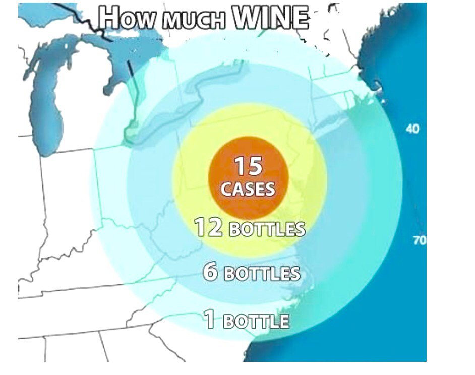 Now that's a different way on looking at preparing for #snowmaggedon2016