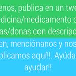 Si estás en Venezuela y buscas o donas alguna medicina y/o medicamento por favor síguenos y ayúdanos a ayudar!! https://t.co/RgngcJnE9p 7