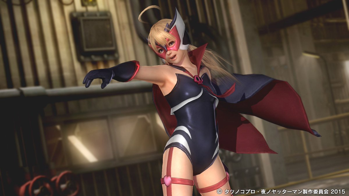 「DEAD OR ALIVE 5 Last Round」のDLCとして、ドロンジョの衣装が配信開始!詳しくはコチラをご確