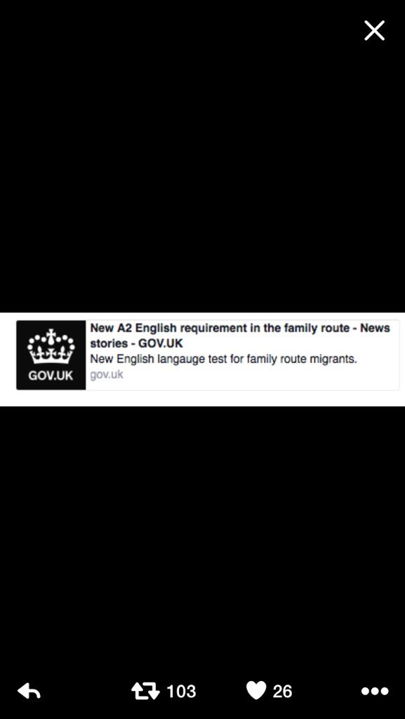 Beyond parody - Home Office can't spell 'language' in their note to migrants who have been told to learn English. https://t.co/7hOxsZkAfw