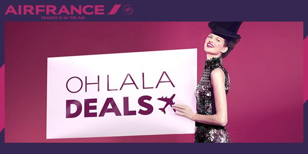 Treat yourself to the Oh la la Deals of @AirFranceUK: Tokyo, NY, Dubai & more! Book by 26.01