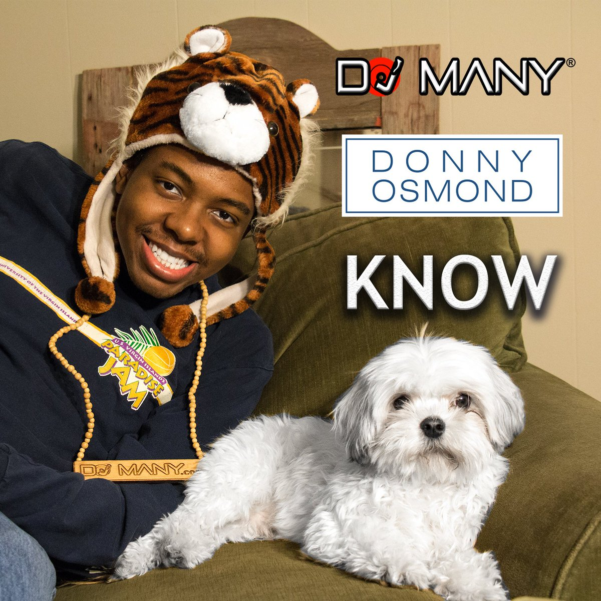 SURPRISE! My New Song With Pop Legend @donnyosmond Is Now Out! https://t.co/9sJcdE2JjW Thank You Donny. -DJ Many https://t.co/1j3CgsSai9