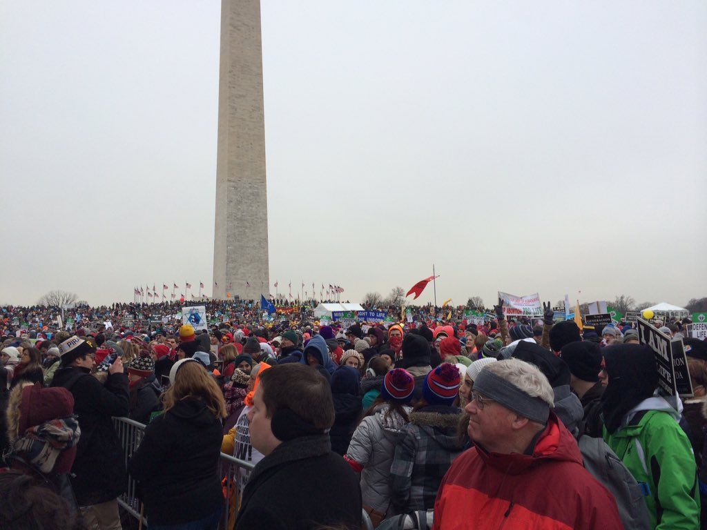 MT @RepMarkMeadows: The media doesn't cover the massive crowds at the #MarchForLife. https://t.co/KwuVVfpV2V #AboutTheChild #PJNET