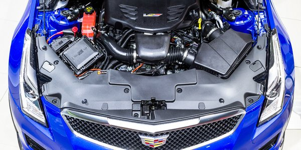 Check out the heart and brains of the #ATS #VSERIES up-close from the #NAIAS #Cadillac display. https://t.co/bbH5f3Q0PM