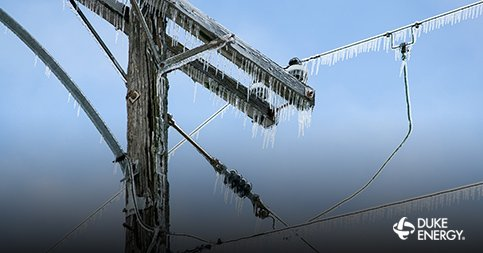 Ice is not nice to power lines. If you have an outage, please text OUT to 57801 or call 1-800-POWERON. https://t.co/WwIBfqvAKq