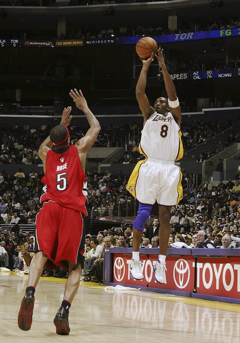 #Kobe81 - 10 year anniversary:  42 mins played  28-46 on FG's   7-13 on