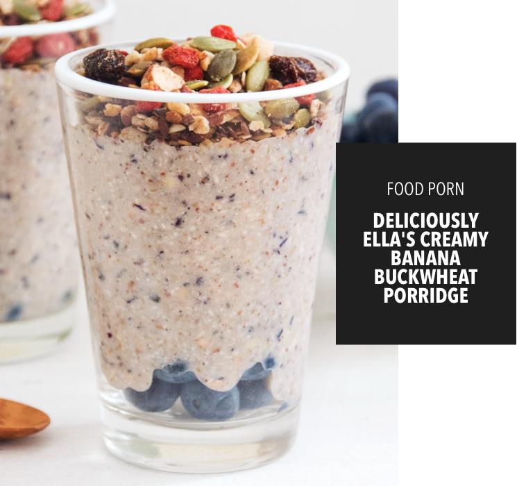 New #FoodPorn! Yummy breakfast porridge thanks to @DeliciouslyElla!!! SO good and on my app! https://t.co/J4LgNXEkH3 https://t.co/KGsn07RM5a