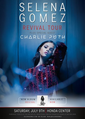 I'm adding a new #REVIVALTour date in Anaheim w/@CharliePuth! Presale starts Mon @ 10 am PT! https://t.co/vn03iSDk3J https://t.co/g17XCUcWJ4