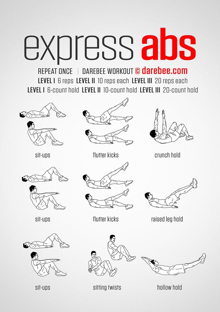 Un entrenamiento exprés para tus abdominales, ¿te apuntas? https://t.co/PmKX87DlzK