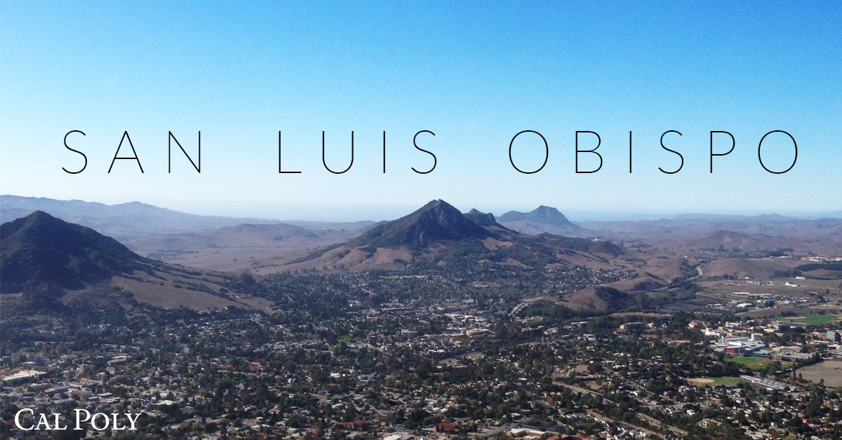 "San Luis Obispo on the charts once again - This time a ""Top College Town"" via @Forbes. #CalPolyProud https://t.co/q3Yd9tftjB"