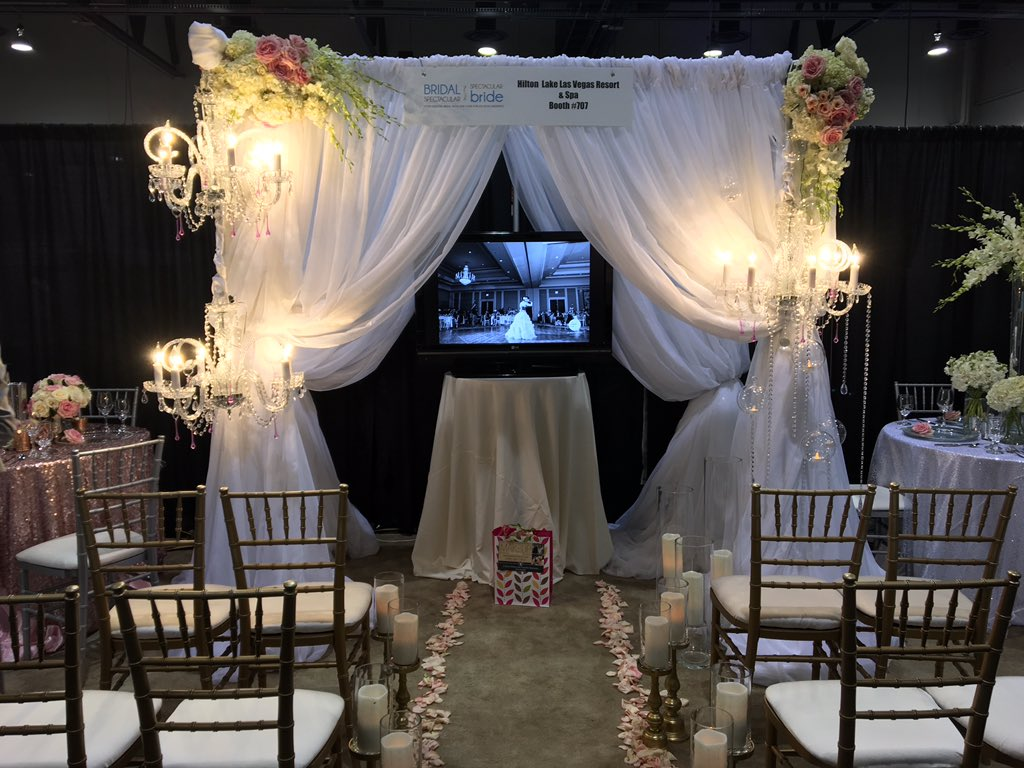 Stop by booth 707 for a free massage by @TheSpaLLV & check out our venue @BridalSpec show!#SayIDo in @LakeLasVegas https://t.co/ajXA26PQRV