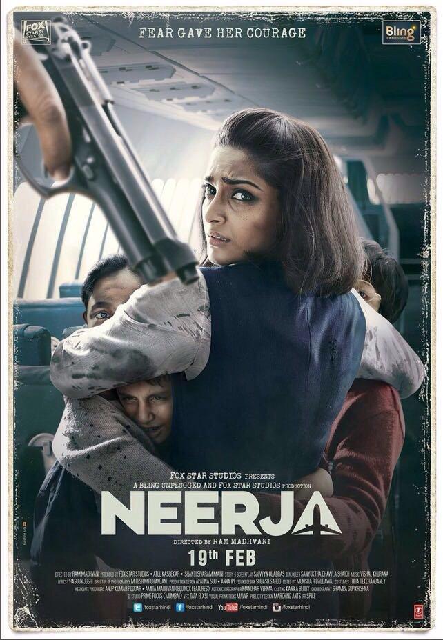 Neerja Torrent 2016 Full HD Movie Download