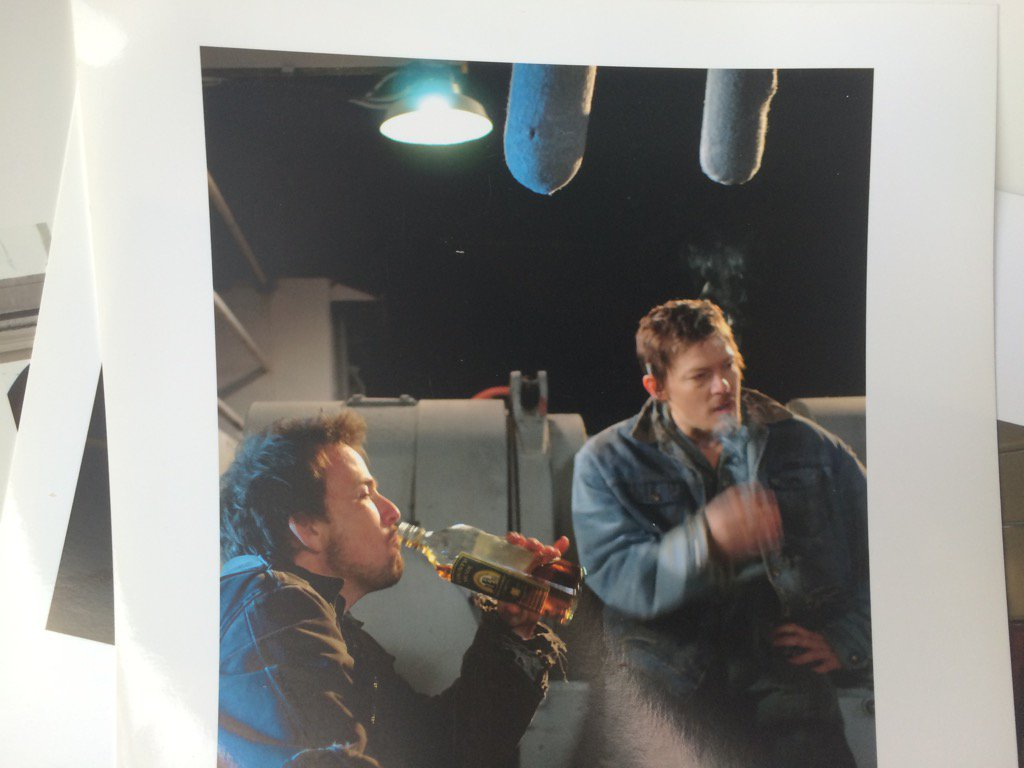 Norm and Sean set pic