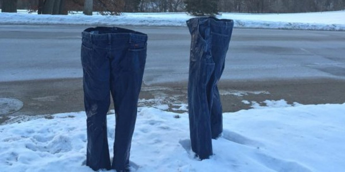 #FrozenPants