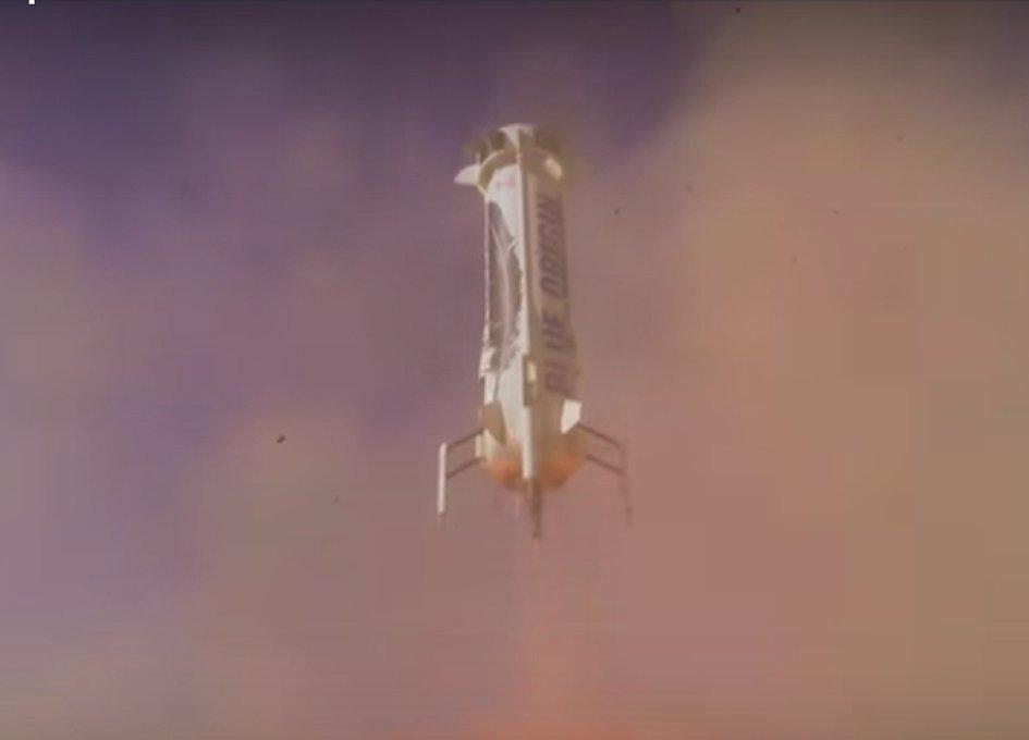 Blue Origin Flies New Shepard To Space - Again (with video) https://t.co/UigOZQ3tZc https://t.co/EX16qoErMP