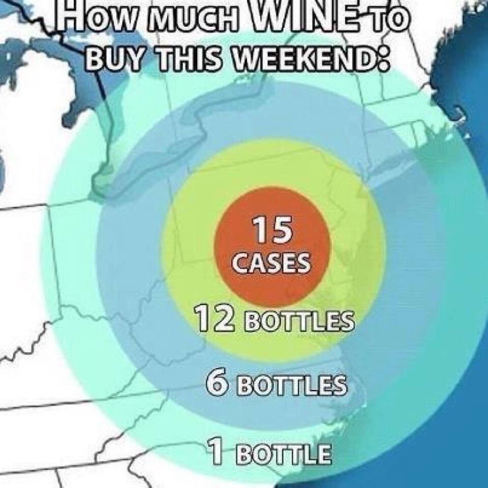 Get ready for the blizzard https://t.co/dKpbXqcEFU
