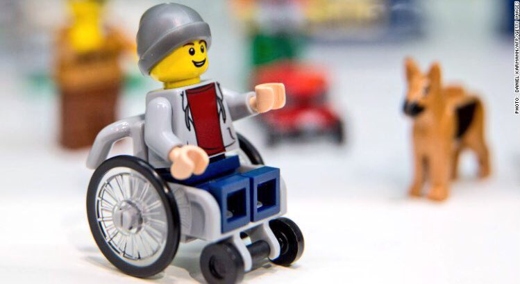 Isn't it great news that @LEGO_Group have created a figurine in a wheelchair?  Times are changing! https://t.co/bxmO5EiK9l