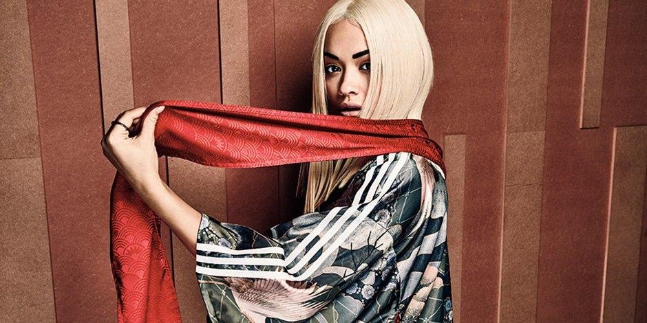 RT @HYPEBEAST: .@RitaOra teamed up with @adidasoriginals to release this Japanese-inspired collection https://t.co/h6Q5NxFTsb https://t.co/…