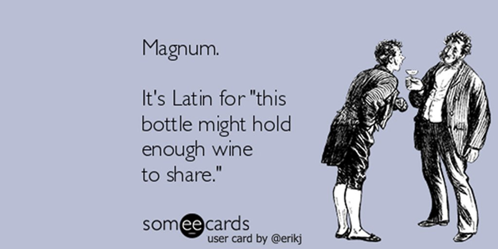 Learned a new #wine term this weekend. https://t.co/BVdUPjjPj6