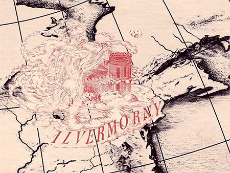 Potterheads rejoice! J.K. Rowling revealed the name and location of America's own Hogwarts