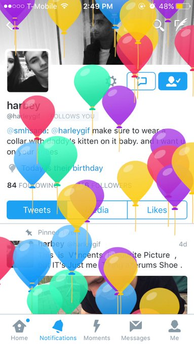 HAPPY BIRTHDAY TO THE COOLEST ALIEN I KNOW :D I hope you have the best day and get to meet Rihanna woooo I love you