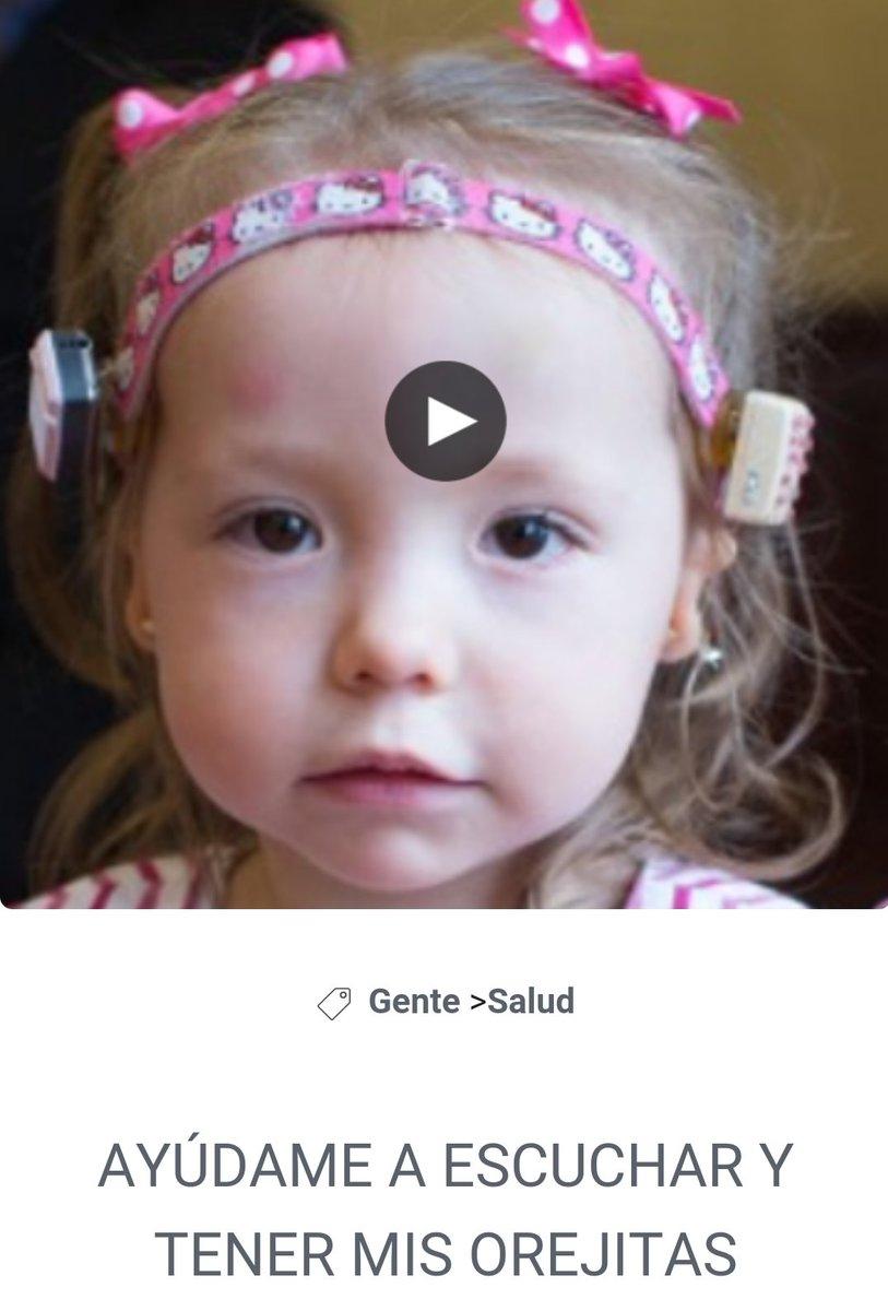 Ayuda con un RT para apoyar a esta pequeña!  https://t.co/GxxSjnuqY0 https://t.co/SZaNuiK3Uz