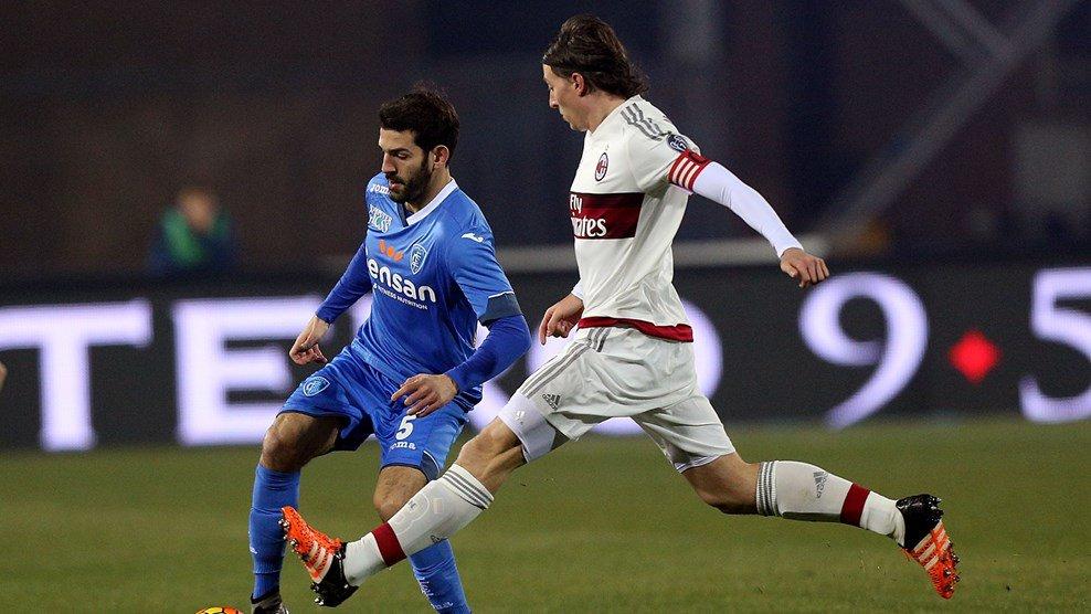 ไฮไลท์  Empoli 2 - 2 AC Milan