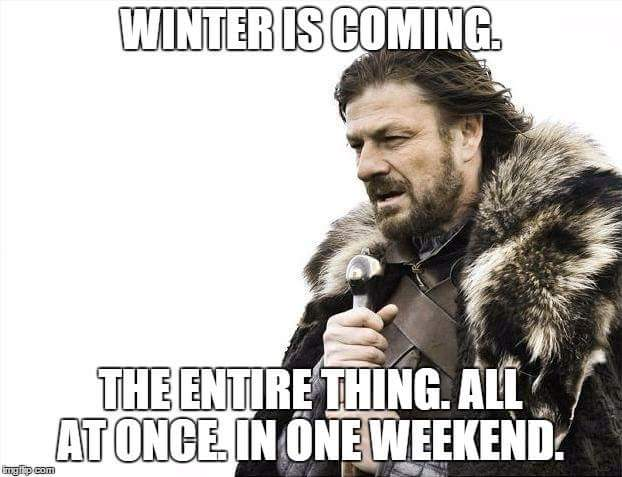 Winter is coming... https://t.co/0V1pHSbe4h