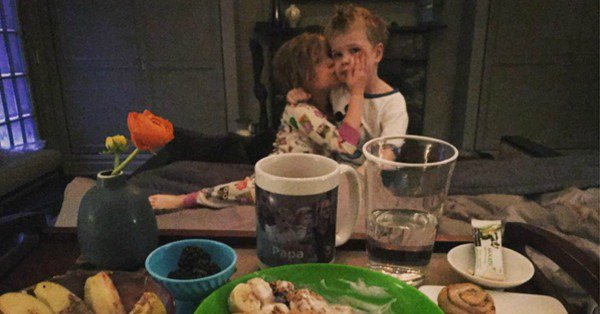 The weather outside is frightful, and Neil Patrick Harris' kids couldn't be any sweeter: