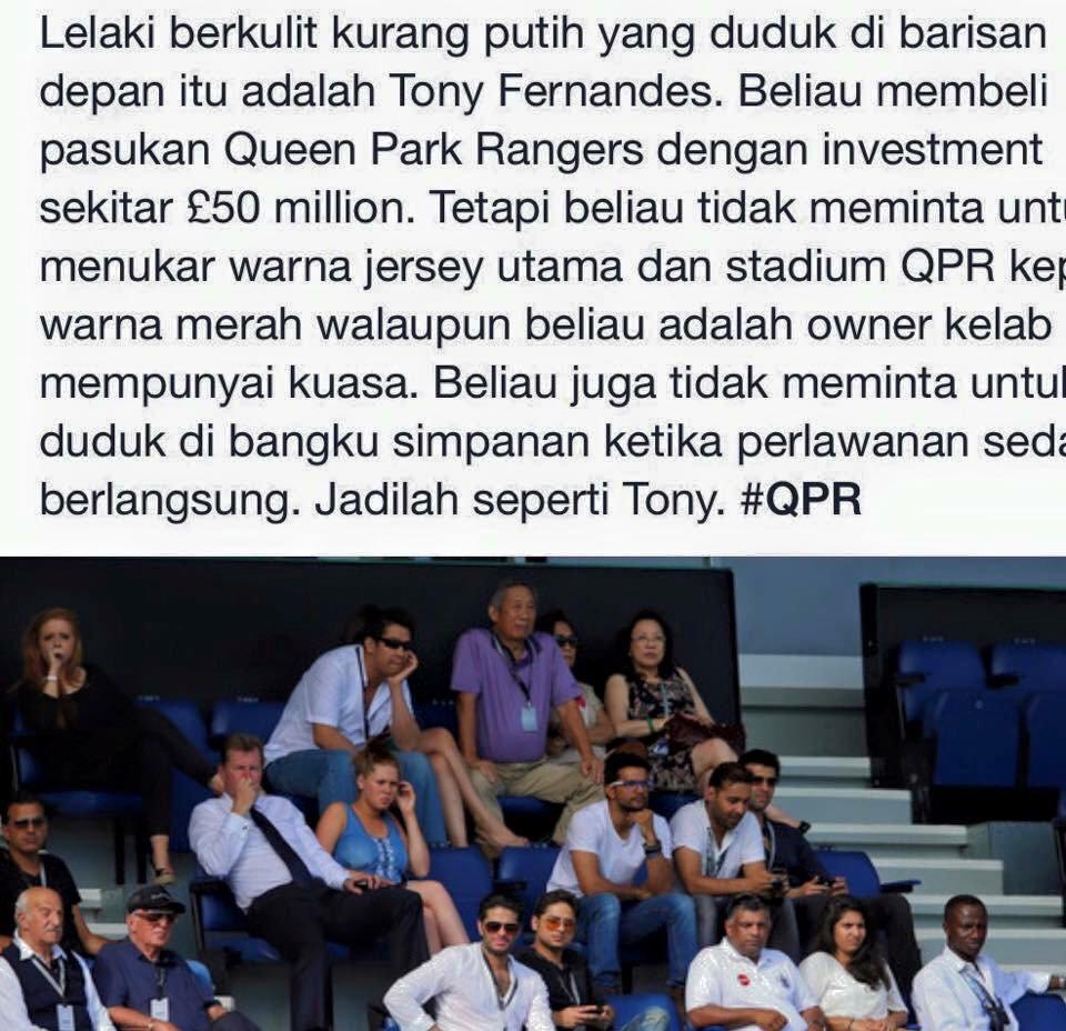 Mereka banyak duit tapi tak show off. Baca dan faham. Jadilah seperti mereka. #Malaysian #QPR #CardiffCity https://t.co/fFH93RcODm
