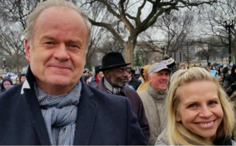 Actor Kelsey Grammer and wife attended the 2016 March for Life (PHOTOS) https://t.co/hnjf2pu9wO https://t.co/hvsz1ixfdd