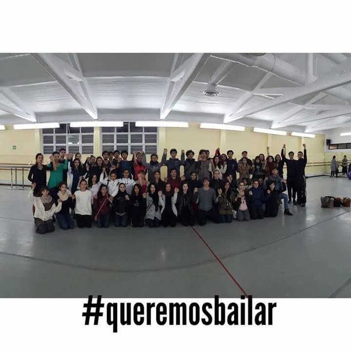 """Los @BailarinesCndMx están siendo violentados n sus derechos laborales #queremosbailar, No que los lleven al BAILE"""" https://t.co/qGfSOS6fhQ"""