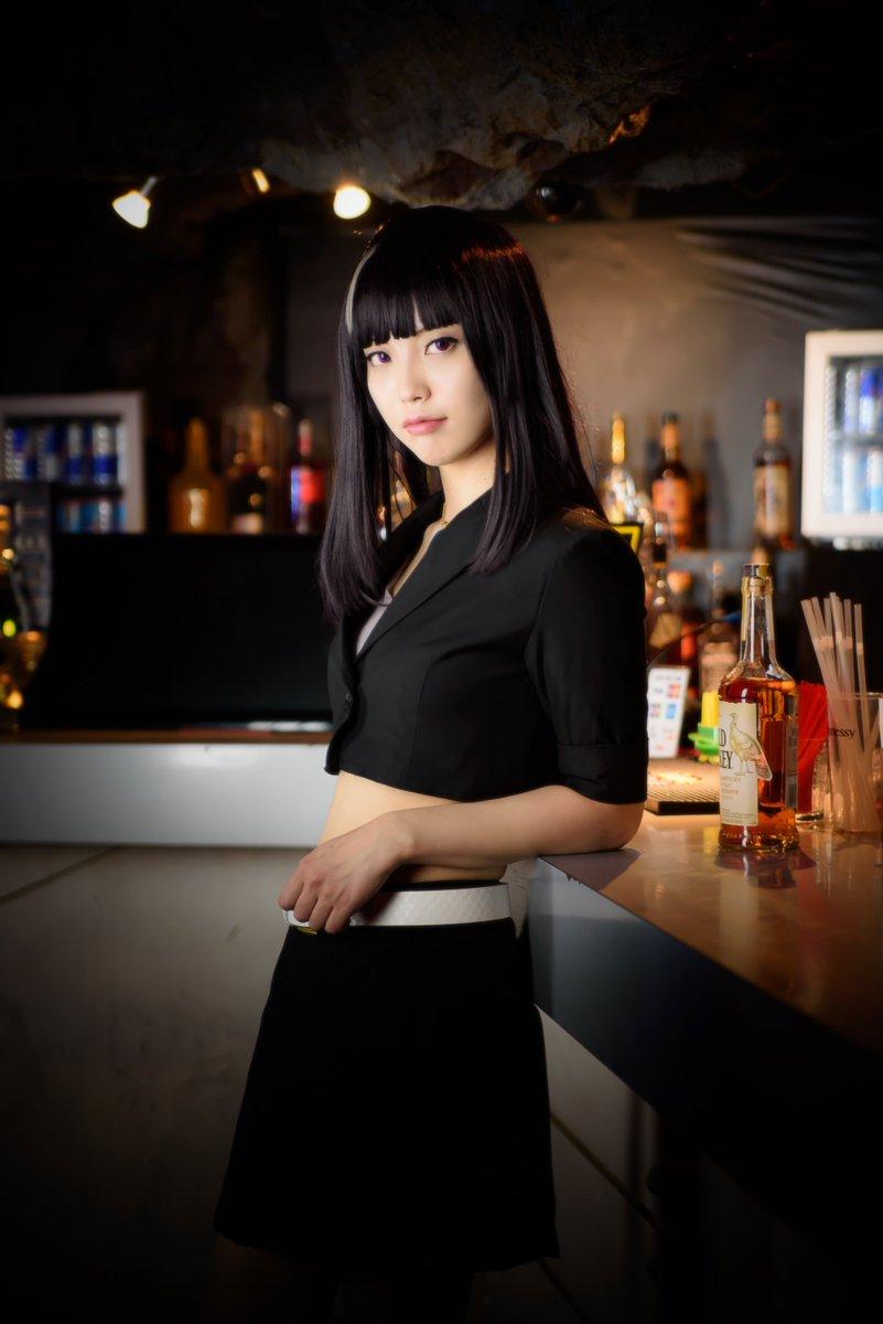 デス・パレード黒髪の女:ターニャノーナ:ユリコ・タイガーさん( )撮影:ま~さん(@33719 )会場:渋谷CLUBイベ