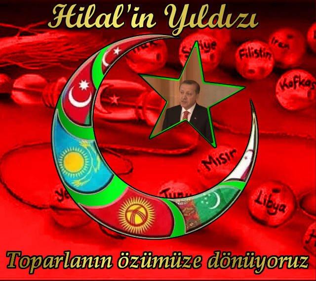 Yeni Türkiye Yeni Dünya  Toparlanıyoruz. Hilalin Hıldızı, Ümmeti Muhammed gözbebeği. @VedatAkbs @nildrcn @10mltm https://t.co/HSM9pfhO8X