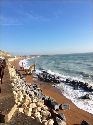The latest progress photos between Dover and Folkestone:- https://t.co/jNSR6OlBWw